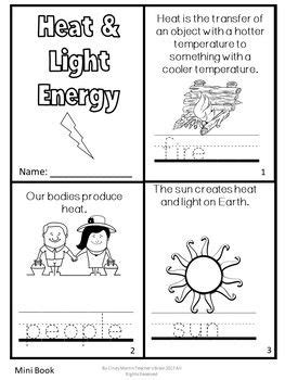 forms  energy activities sound heat light freebie
