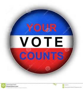 Your Vote Counts Clip Art