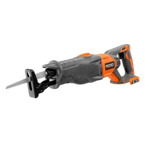 depot sawzall ridgid x4 18 volt cordless reciprocating saw console tool Home