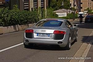 Audi Monaco : audi r8 spotted in monte carlo monaco on 08 20 2013 ~ Gottalentnigeria.com Avis de Voitures