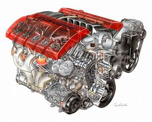 Corvette Racing V8 Engine