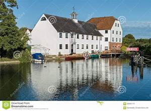Luxury Apartments On The River Thames, England Stock Photo ...