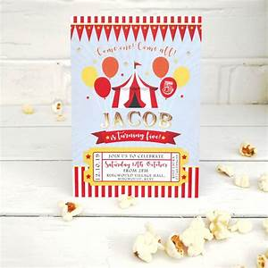 Carnival, Party, Invitations, Pack, Of, 20, By, Heart, Invites