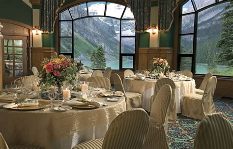 mountain paradise  chateau lake louise idesignarch