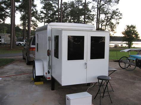 enclosed trailer r door conversion as i live it utility trailer cer