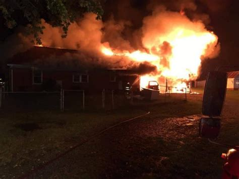 tuesday fire destroys home graves marshall injuries