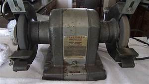 Craftsman 1  3 Hp  U0026quot Block U0026quot  Bench Grinder  Over 50 Yrs Old