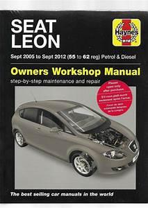 New Sealed Seat Leon Petrol Turbo Diesel 2012 Cupra Cupra R Owners Workshop Manl