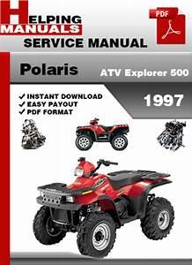 Polaris Atv Explorer 500 1997 Service Repair Manual Download