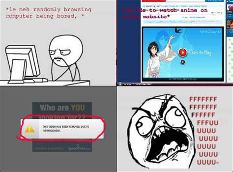 Meme Comic Anime - rage comic anime sites by dawnleapord on deviantart