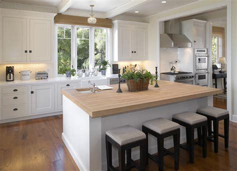 dazzling butcher block island  kitchen modern