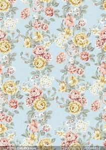 无缝拼接玫瑰花图案背景高清图片 - 大图网设计素材下载