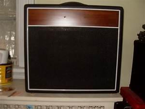 Guitar Combo Amp Cabinet  Empty