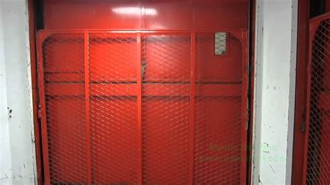 My First Freight Elevator Video