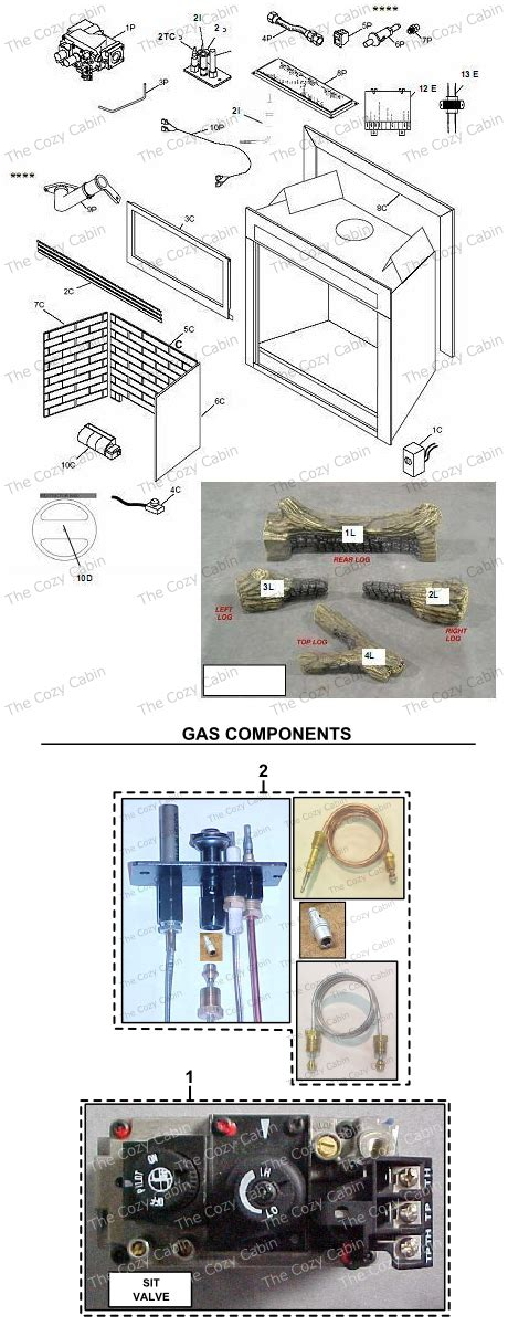 dvb dvb  cozy cabin stove fireplace parts store