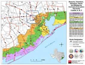 Houston Hurricane Evacuation Zones