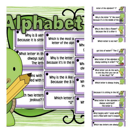 alphabet jokes classroom freebies alphabet alphabet