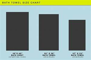 How Big Is A Bath Towel Standard Towel Sizes With Chart