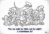Corinthians Coloring sketch template