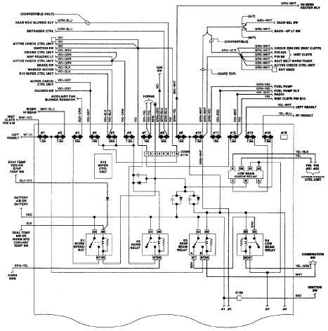 bmw 325i e30 wiring diagram hot rods pinterest
