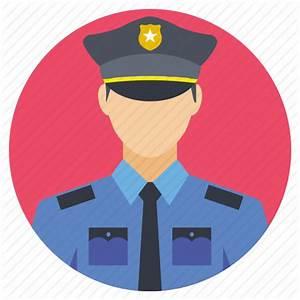 Avatar of police officer, officer on call, police officer ...