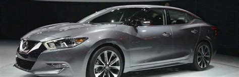 2019 Nissan Maxima First Look