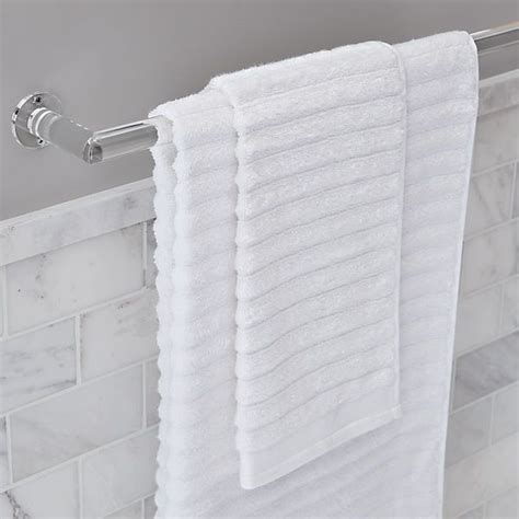 acrylic towel bars cb  long   note matching