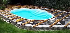 Pool Mit Holzterrasse : poolumrandung rund ~ Whattoseeinmadrid.com Haus und Dekorationen
