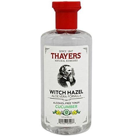 thayers witch hazel toner with aloe vera cucumber 2 pack