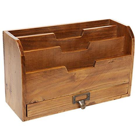 3 tier desk organizer 3 tier country rustic vintage wood office desk file