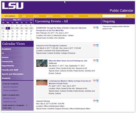 Lsu Help Desk by Mylsu Portal Lsu Calendar Grok Knowledge Base