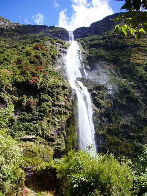 Travel Trip Journey Sutherland Falls New Zealand
