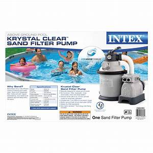 Intex Sand Filter Pump Model Sf20110 Manual