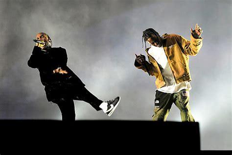 Listen To Kendrick Lamar And Travis Scott's New Song ''big