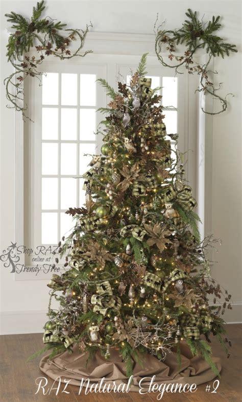 Tree Decorations Ideas 2015 by 2015 Raz Trees Trendy Tree Decor