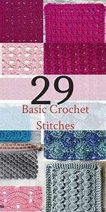 20  Basic Crochet Stitches