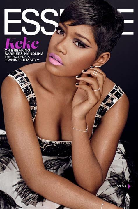 essence magazine january  actress keke palmer photo