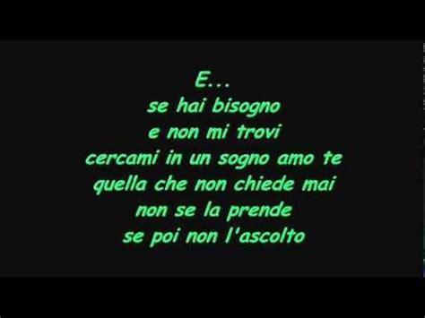 Vieni Qui Vasco Testo by Vasco E With Lyrics