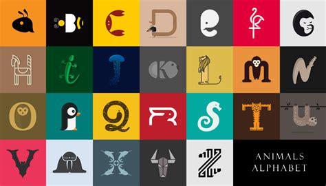 animals alphabet  behance