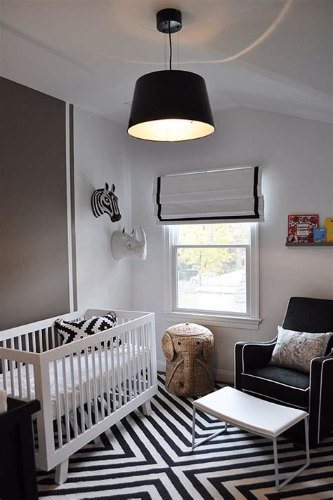 boy bedroom furniture before after a nursery gets the black white treatment