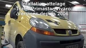 Attelage Trafic 2 : installation attelage trafic primastar movano youtube ~ Gottalentnigeria.com Avis de Voitures