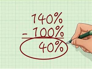 Steuerklasse 6 Berechnen : prozenterh hung berechnen wikihow ~ Themetempest.com Abrechnung