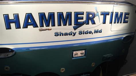Custom Boat Covers In Maryland by Hammer Time Shady Side Maryland Boat Transom Boats