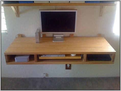 desk attached to wall ikea wall mounted desk ikea desk home design ideas