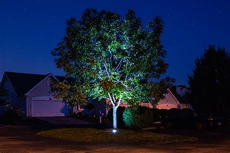 8 Watt Led Landscape Up Light, Glux Series Pond