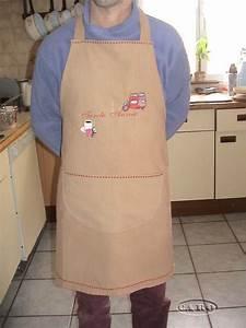 Tablier De Cuisine Homme : patron de tablier de cuisine homme maison ~ Melissatoandfro.com Idées de Décoration