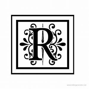decorative alphabet gallery free printable alphabets With decorative letter r