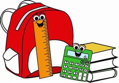 Supplies Backpack Books Clip Cartoon Graphics Ruler