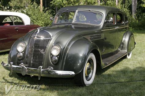 1937 Chrysler Airflow by 1937 Chrysler Airflow Imperial Sedan Information