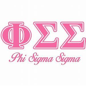 phi sigma sigma official merchandise at zazzle With phi sigma sigma letters
